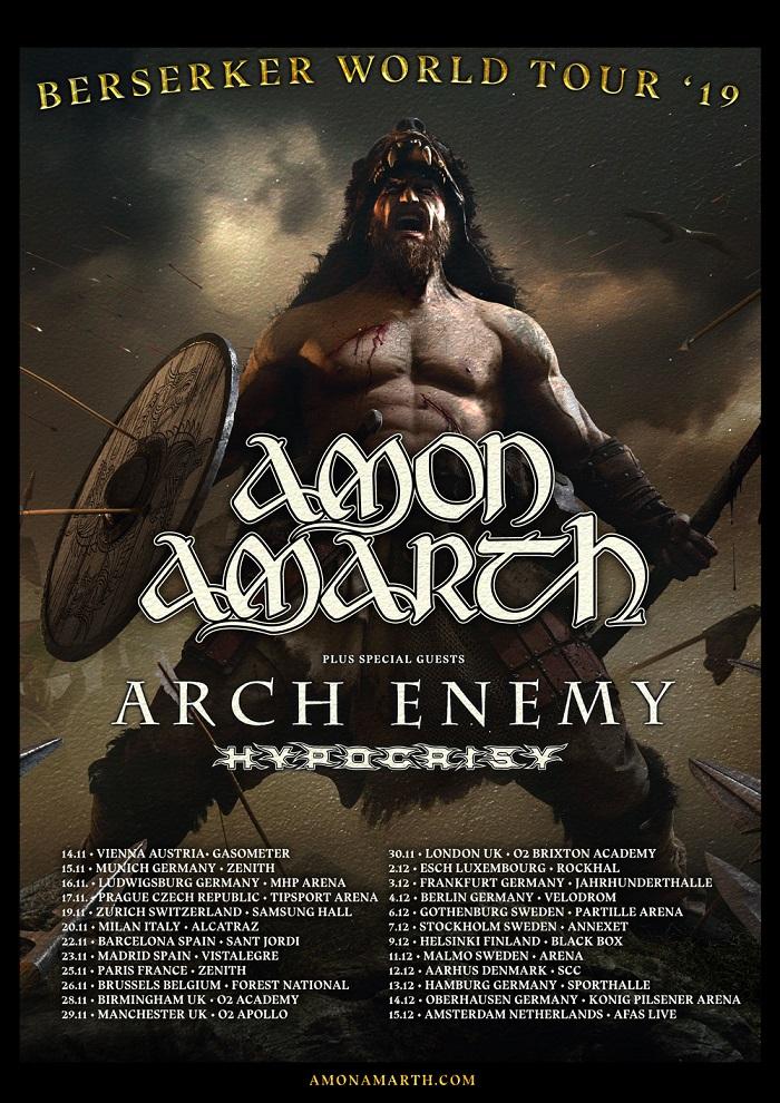 EUROPEAN TOUR 2019 - Arch Enemy