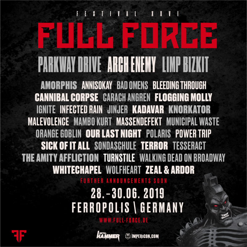 fa84637dd0e34 GERMANY! We ll see you at Full Force 2019! Watch the official trailer at  https   youtu.be oXOsJHOTbD0   get your tickets at bit.ly FullForceTickets!
